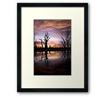 Early light. Framed Print