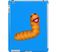 A fuzzy little worm iPad Case/Skin