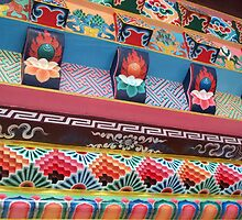 More Tibetan Design by Angie Spicer