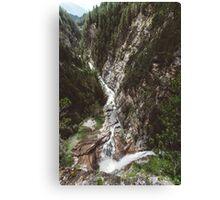 Switzerland river Canvas Print