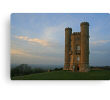 Broadway Tower at Dusk Canvas Print