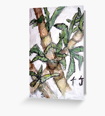 Bamboo - Washi Greeting Card