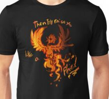 Fall Out Boy - The Phoenix - Then I'll Raise You Like A Phoenix Unisex T-Shirt