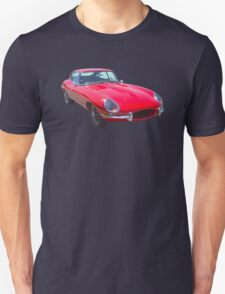Red 1964 Jaguar XKE Antique Sportscar T-Shirt