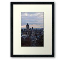 Princes Street Framed Print