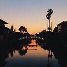 Venice sunsets by Santamariaa
