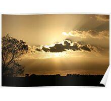 Through the Clouds- Ravensthorpe Western Australia Poster