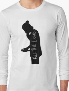 Harry Silhouette Long Sleeve T-Shirt