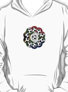South African Football Flower T-Shirt