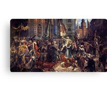 The Constitution of the 3rd May 1791 Canvas Print