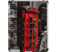 The Red Phone Booth iPad Case/Skin