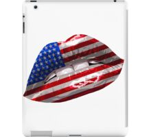 American Flag Graphic Design iPad Case/Skin