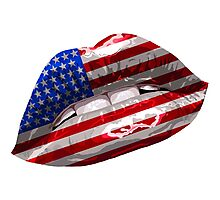 American Flag Graphic Design Photographic Print