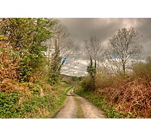 Rural Clare road Photographic Print