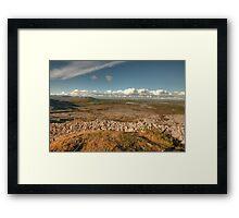 Beautiful Burren scene Framed Print