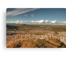 Beautiful Burren scene Canvas Print
