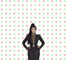 Regina Mills / The Evil Queen Apple Print (OUAT) by emilyplusfandom