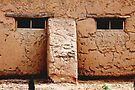 Adobe Face - Mesilla house by Larry3