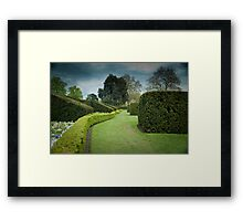 The Long and Winding Hedge:-) Framed Print