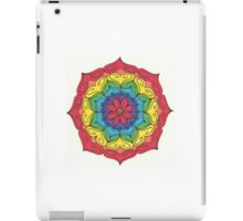 Mandala Drawing #21 Original Design by TAM iPad Case/Skin