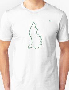 """Lichtenstein """"Citizen of the Earth"""" large Unisex T-Shirt"""