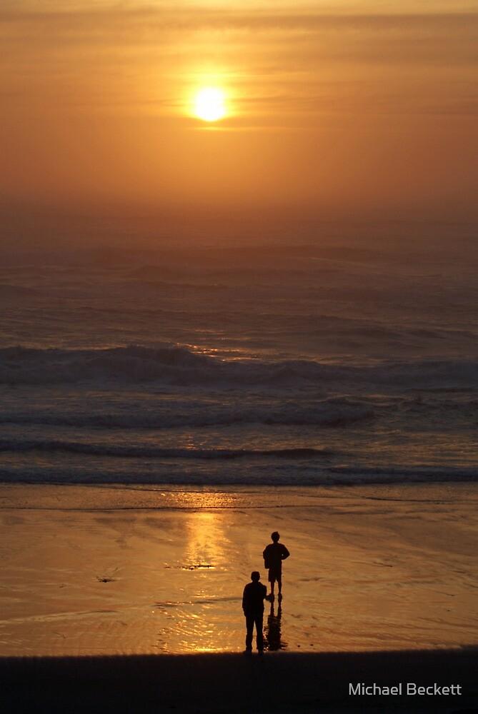 Oregon Sunset by Michael Beckett