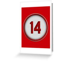 14 - Charlie Hustle Greeting Card
