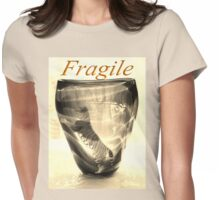 Fragile Tiger Womens Fitted T-Shirt