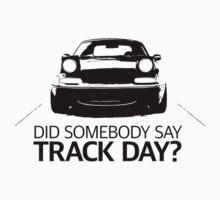 Did somebody say track day? Mazda Miata (mx-5) NA Kids Tee