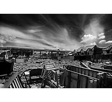 After A Deadly Fire Photographic Print
