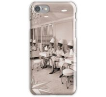 Vintage Beauty Salon iPhone Case/Skin