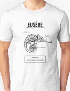 A chameleon named Eusèbe Unisex T-Shirt