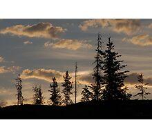 morning landscape Photographic Print