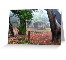 Blackheath Shack Greeting Card
