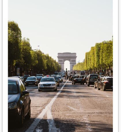 Champs Elysees Sticker