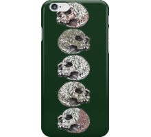 Skull Stack (Green Variation) iPhone Case/Skin