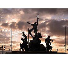 Old San Juan Statue Photographic Print