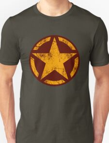 Golden Yellow Vintage American Star T-Shirt