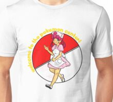 welcome to the pokemon center! Unisex T-Shirt