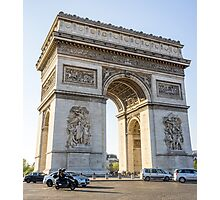 Arc de Triomphe Photographic Print