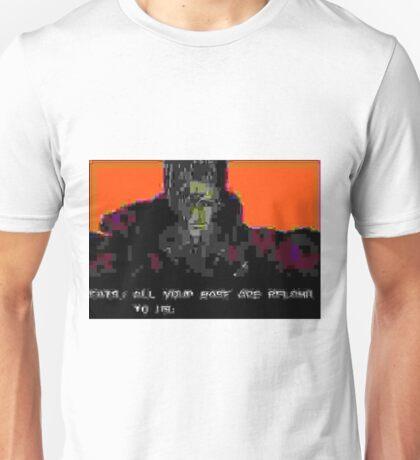 A̷͇͉̻͛͂̐L̶̳̳̪̤͇̪̘͋̀̚Ľ̸̈́̅͊ͦ̄̈́͏̼̩ ̵͚̫͉̔̑͐ͫY̶̡͓̩̟̤͕ͨ͌̕O̶̥̼̘̽ͨ͗͐Ů̢̮̫͎̥͙̽ͥ͛̄̈́Ŕ̦̣̱͙͙͔̙̦̻͂̒ͨ̓ͣͩ̏͡͞ ̧̰͔͈̬̦̊̇̓͌͟͠B̢̛̍̊͗̆͏̻͙͈̟͙͕̻̭A̠̜ͨ̋͗ͦ͝͞S̝̟̙ͧ̃̋ͩͩE͙͎̭ͫ̒͑ͮ͂́ Unisex T-Shirt