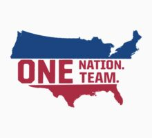 United States Soccer- One Nation One Team  by TomMurphyArt