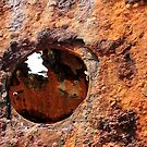 Rusty Eye - Maheno Ship Wreck, Fraser Island, Australia by Fineli