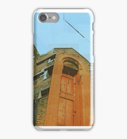 The last man to leave town  iPhone Case/Skin
