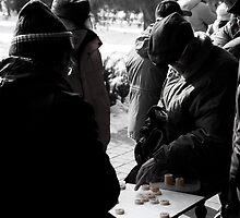 Chinese Chess in Beijing by Alexander Suen