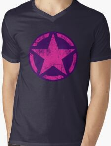 Hot Pink Vintage American Star T-Shirt