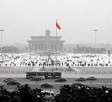 Beijing Tiananmen by Alexander Suen
