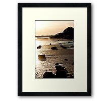 The Lumps of Life Framed Print