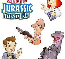 It's a small Jurassic World (raptor sticker set 1) by Robiberg