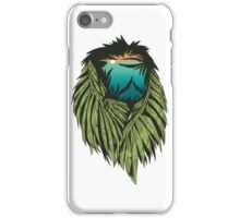 Spooky hunting lion iPhone Case/Skin